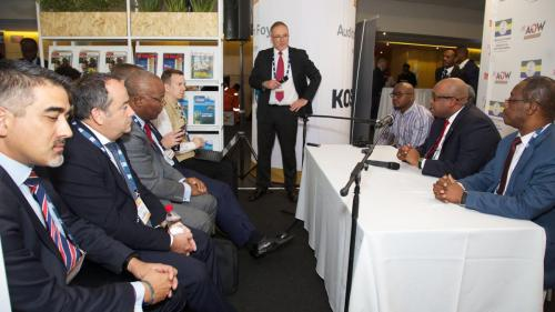Africa Oil Week 2018 - Press Conference - November 2018
